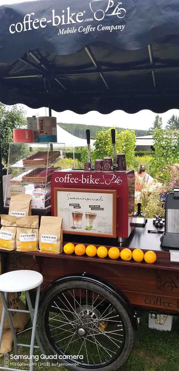 Coffee-Bike vom Catering Cafe